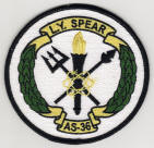 USS L. Y. SPEAR Patch