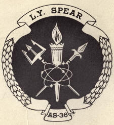 Insignia of USS L. Y. SPEAR (AS-36)